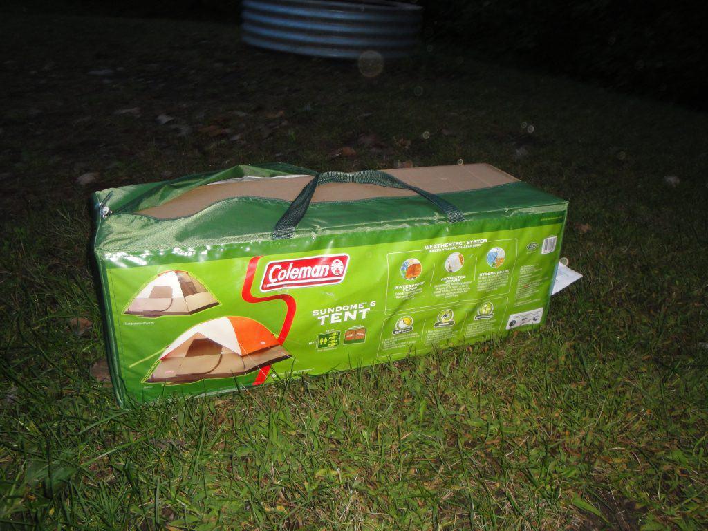 coleman tent review