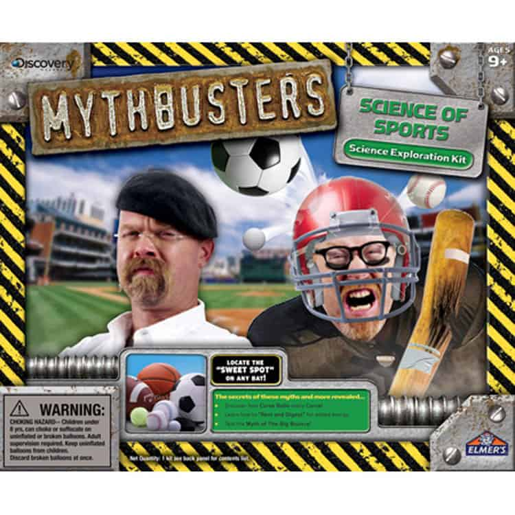 Mythbusters science of sports, experiments to learn from and perform