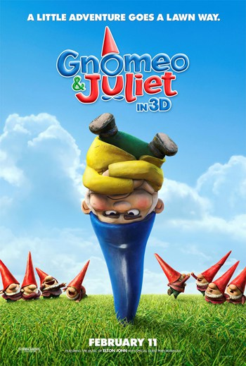 Gnomeo and Juliet movie and activity.