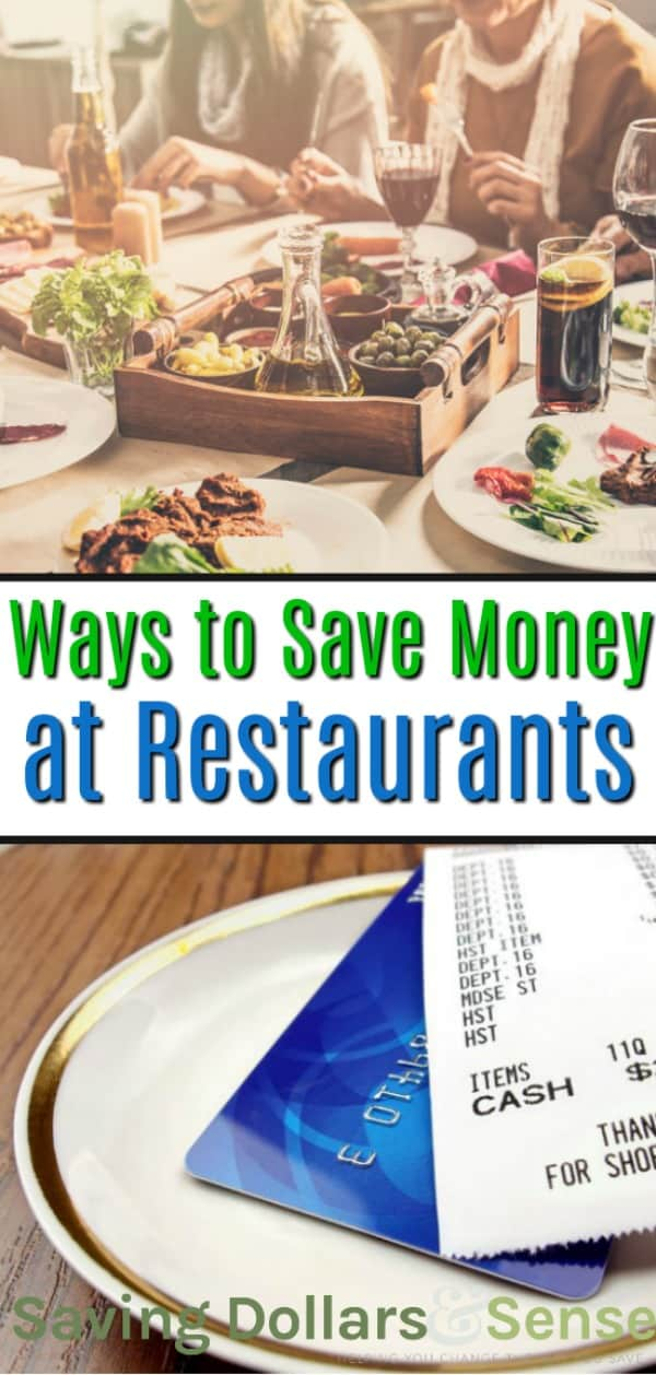 Five Ways To Save On Your Restaurant Bill