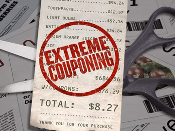 Extreme couponing show on TLC and couponers fraudulent activity.