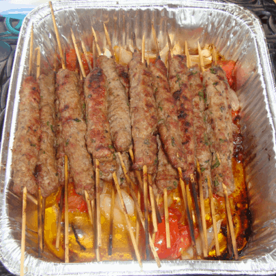 Easy and healthy veal kebab recipe