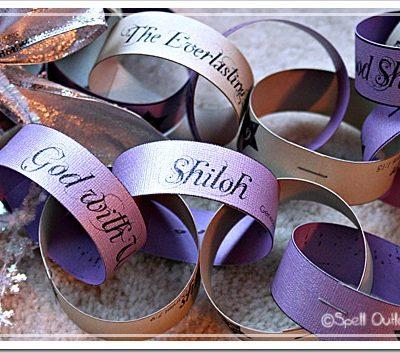 Names Of Jesus Advent Chain
