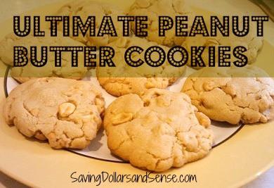 Ultimate Peanut Butter Cookie Recipe - Saving Dollars & Sense