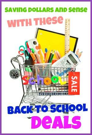 Back to school deals.