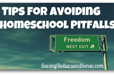 Tips For Avoiding Homeschool Pitfalls