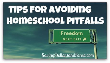 Tips For Avoiding Homeschool Pitfalls