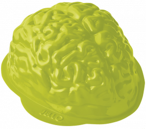Free Jello Brain Mold!