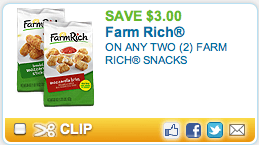 Farm Rich Coupon & Cheese Sticks For $.67!