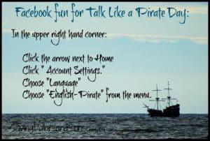 Talk Like A Pirate Day Freebies!