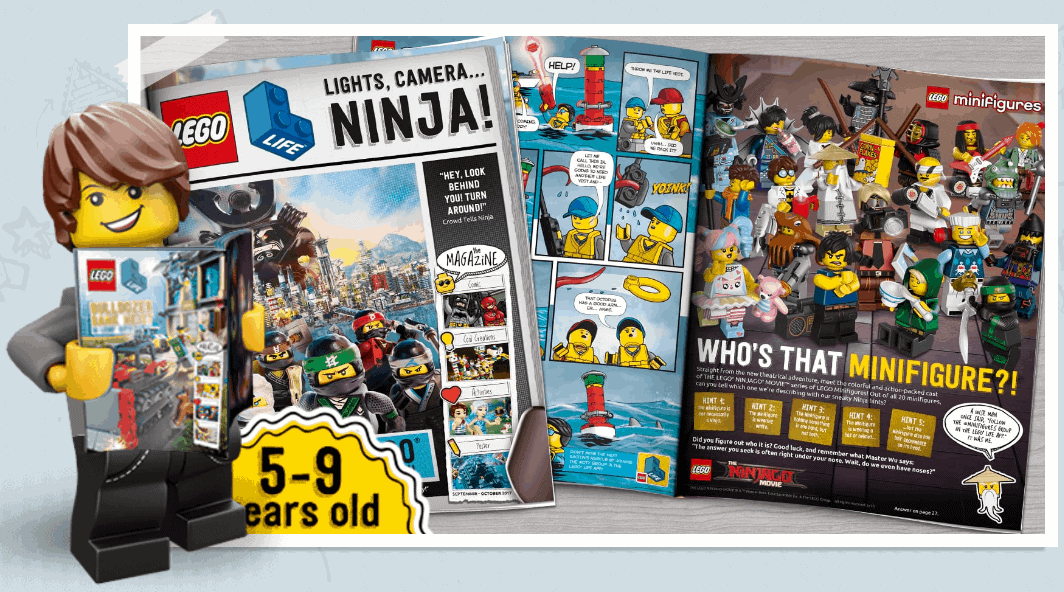 Free LEGO magazine subscription for LEGO lovers.