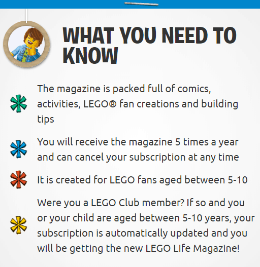 Everything you need to know about the free LEGO magazine subscription.