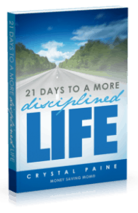 21 Days To A More Disciplined Life Giveaway