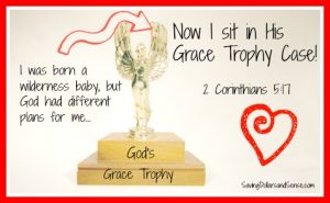 God's Grace Trophy Case
