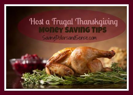 Host A Frugal Thanksgiving Money Saving Tips