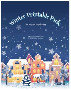 FREE Kids Winter Printable Pack!