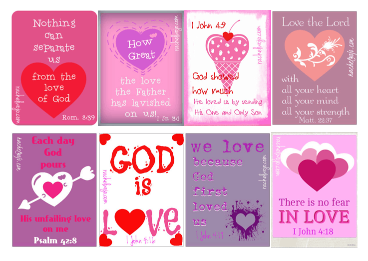 Free christian valentine 39 s day cards saving dollars sense for Inspirational valentine crafts