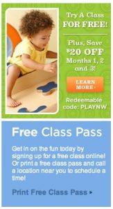 Gymboree FREE Class & Clothes!