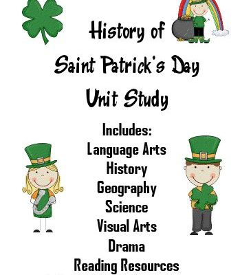 FREE St. Patrick's Day Unit Study!