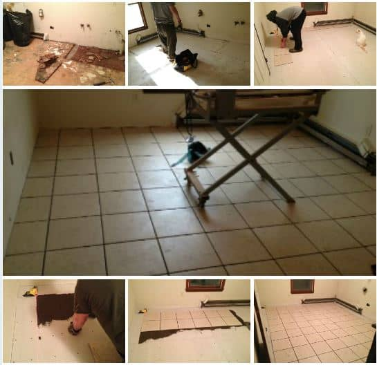 Find good ceramic tile for a DIY remodel.
