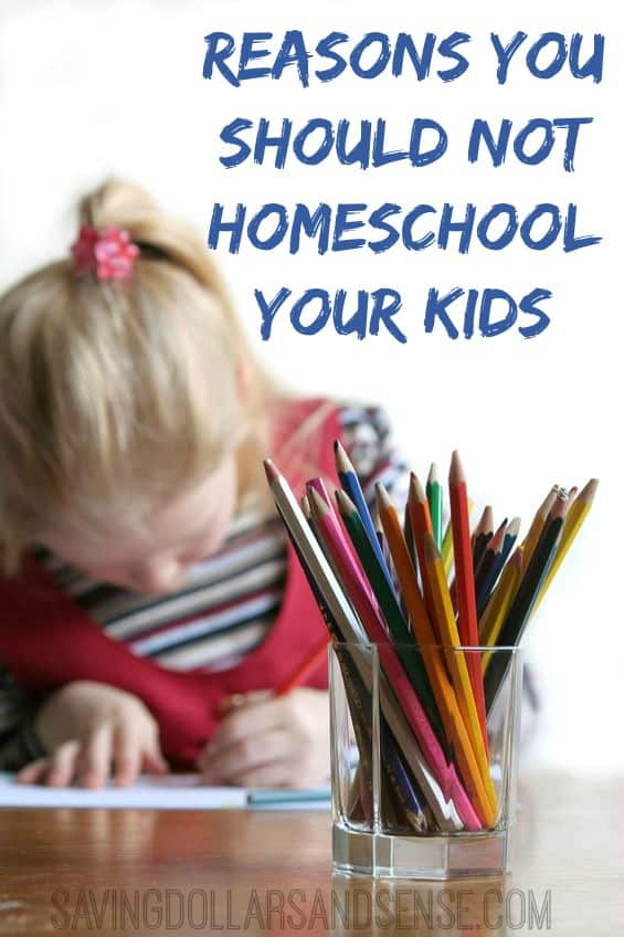 don't homschool