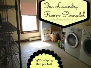 Our Laundry Room Remodel In Pictures