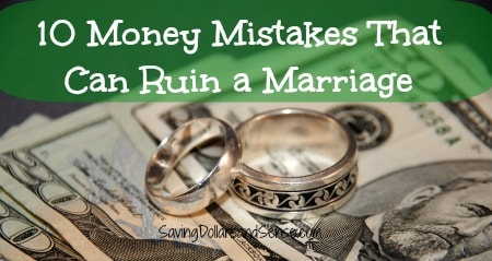 Common Money Mistakes Couples Make