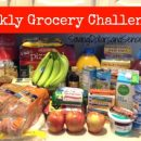 Official grocery store challenge to save money.