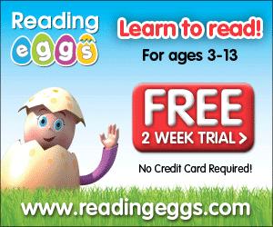 FREE Reading Eggs Reading Program!