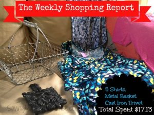 Weekly Shopping Report: Thrifting Edition