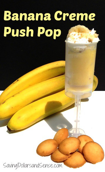 Banana Creme Push Pop