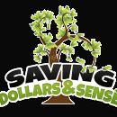 Saving Dollars and Sense logo.