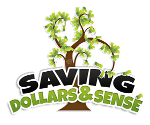 Saving Dollars and Sense logo.