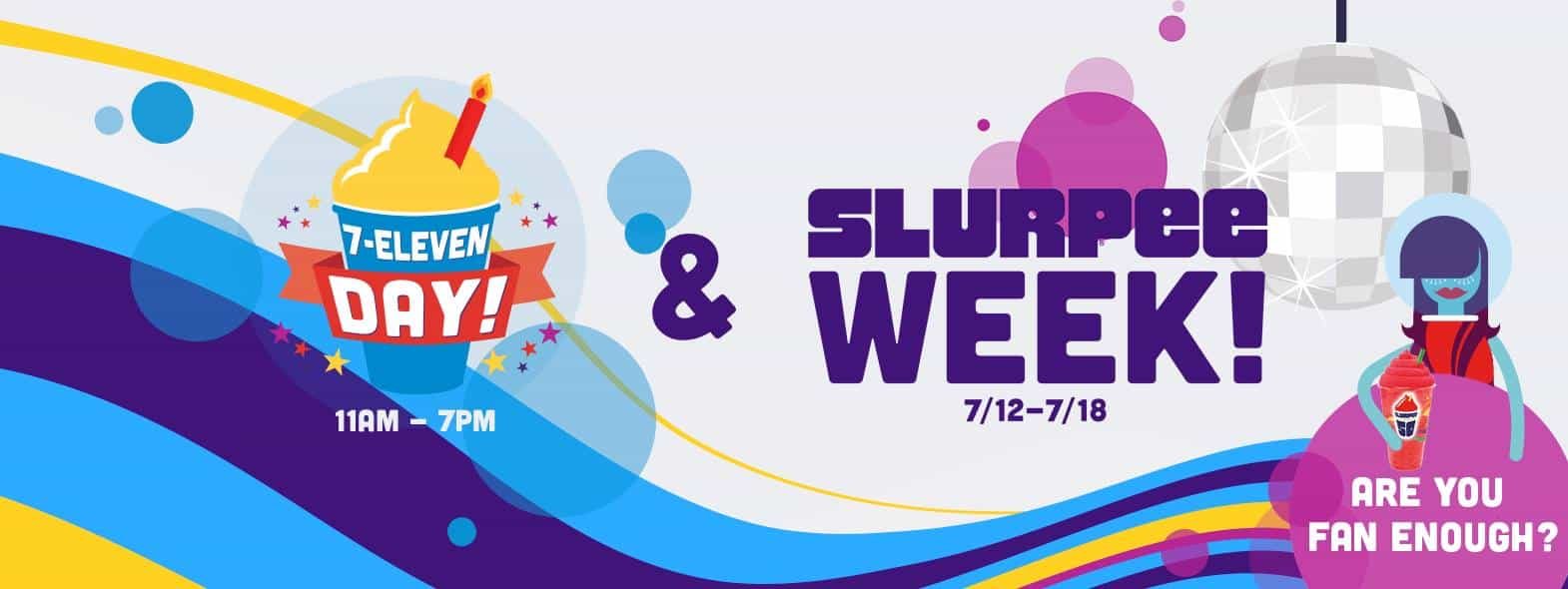 7-Eleven FREE Slurpee Day