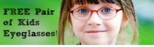 Free Kids Eyeglasses!