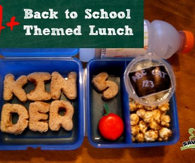 Back to School Themed Lunch