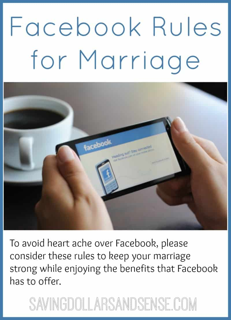 Facebook Rules for Marriage - Relationships
