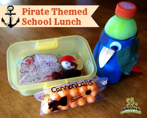 Pirate Themed Lunch