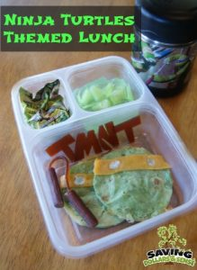 Ninja turtles Lunch