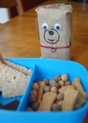 Puppy Themed Lunch for kids