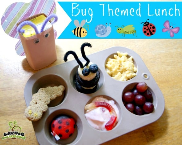 Bug Themed Lunch