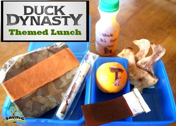 Duck Dynasty Themed Lunch