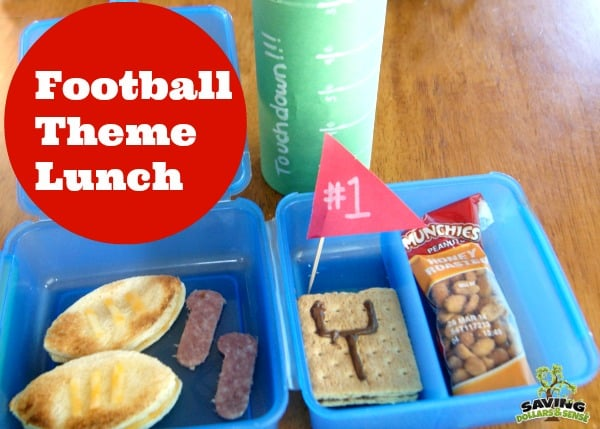 Football Theme Lunch