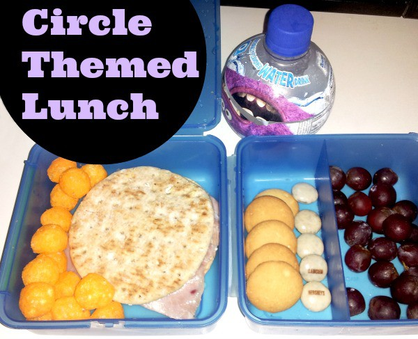 circle Themed Lunch