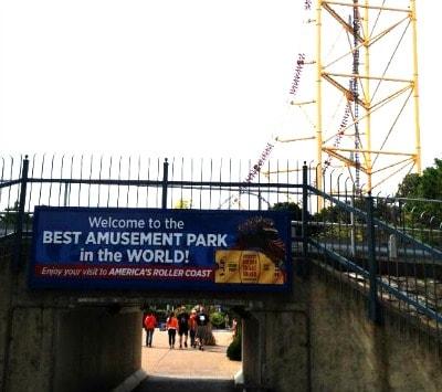 Cedar Point amusement park.