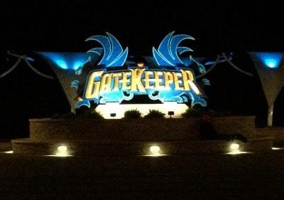Gatekeeper at Cedar Point.