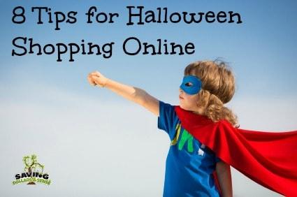 tips for halloween shopping online