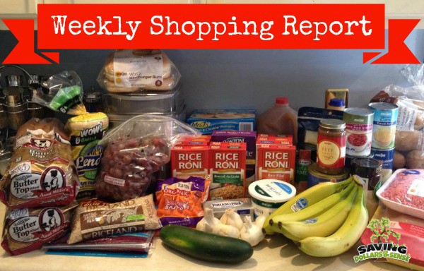 weekly shopping