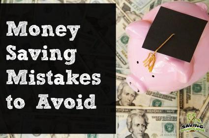 Money Saving Mistakes to Avoid