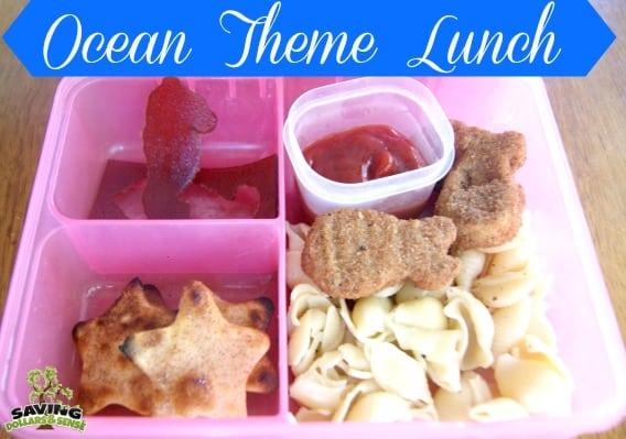 Ocean Theme Lunch
